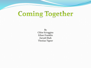 Coming Together 2012