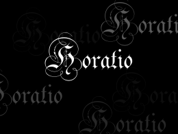 Horatio - WordPress.com