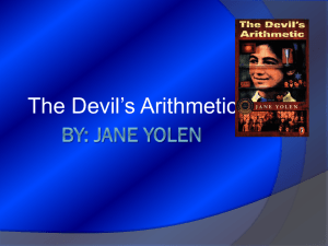 The Devil`s Arithmetic