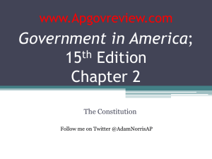 Government in America, Chapter 2