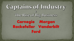 Captains of Industry - pams-byrd