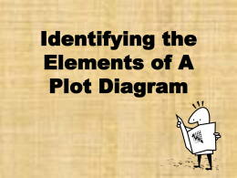 Plot Characters Conflict PPT