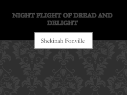 Night Flight of Dread and Delight
