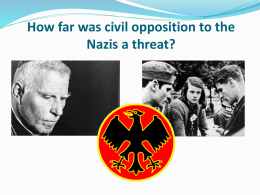 Civil opposition to Hitler