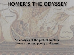 Homer`s The Odyssey