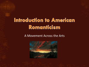 Introduction to American Romanticism (2)