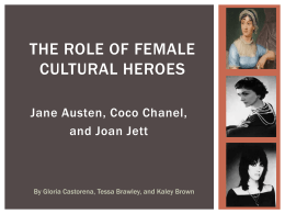 Role of Cultural Heroes