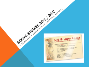 Social Studies 30-1 30-2 liberalism review