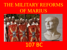 Chap_03_THE MILITARY REFORMS OF MARIUS