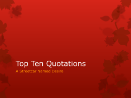 Top Ten Quotations - Miss Thompson Media