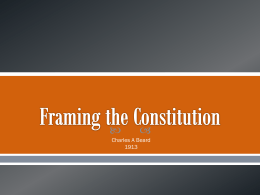 Framing-the-Constitution