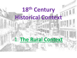 18th Century Historical Context