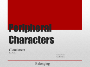 Peripheral Characters