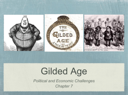 Gilded Age - get your game on