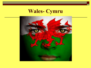 Wales -Plaid Cymru and Nationalism