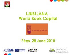 Ljubljana World Book Capital - Natasa