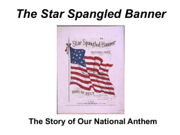 The Story of the Star Spangled Banner - TPS