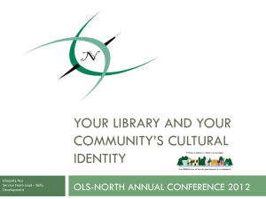 community - Ontario Library Service