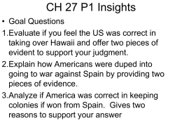 Ch 27 Insights P1
