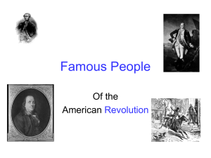 People of the Revolution PPT