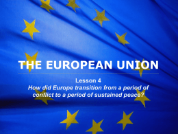 The European Union - Delegation of the European Union to the