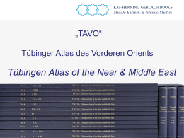 TAVO Atlas - ppt presentation for - Gerlach