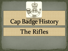 The Rifles History