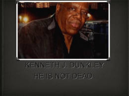 KENNETH J. DUNKLEY - Plain Local Schools