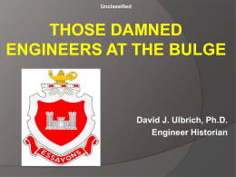 Dammed Engineers in the Bulge