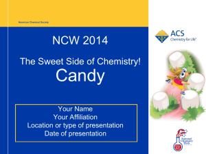 ACS PowerPoint Template - American Chemical Society