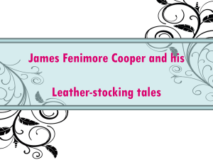 The Leather-stocking Tales during 1823-1841