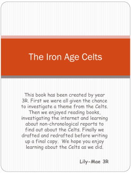 The Iron Age Celts