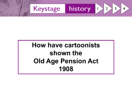 1908 Old Age pensions