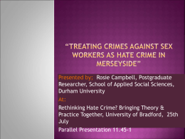 bradfordhtecrimeconf.. - University of Bradford