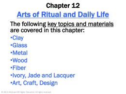Chapter 12: Arts of Ritual and Daily Life