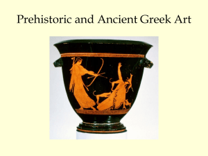 Prehistoric and Ancient Greek Art Power Pt