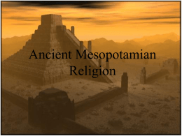 AncientMesopotamianReligionNEW