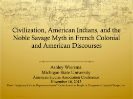 ASA PowerPoint 2012 - Colonialism Through the Veil