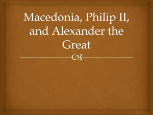 Macedonia and Philip II
