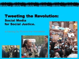 Social Media for Social Justice Training Guide