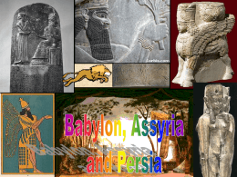 The Lion Kings of Assyria