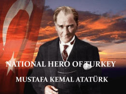 Turkish national hero