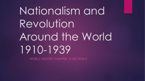 Chapter 12 Section 2 Nationalism in Africa and the Middle East