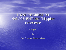 ppt - Local Information Network in Southeast Asia