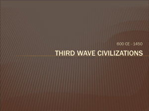Third wave civilizations