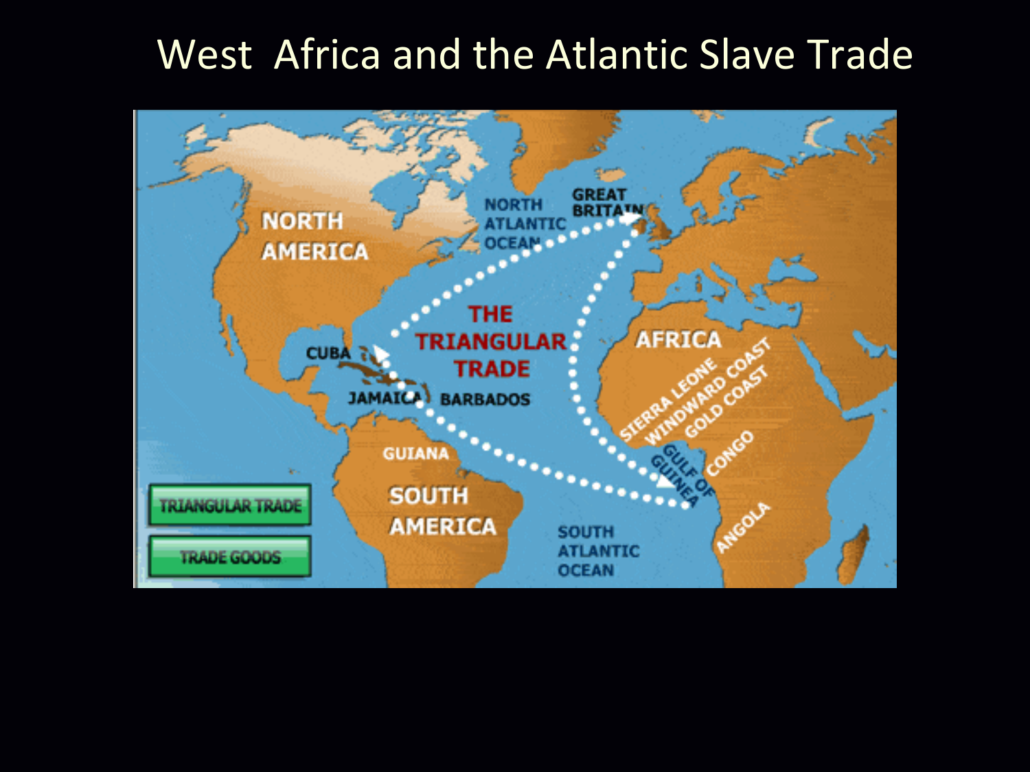 west african slave trade Slaves for guns west african rulers were instrumental in the slave trade they exchanged their prisoners of war (rarely their own people) for firearms manufactured in birmingham and elsewhere in britain.