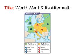 How Far Did The Big Three Achieve Their Aims At The Paris Peace