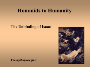 From Hominids to Humanity - University of South Alabama