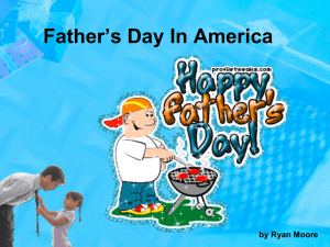Fathers Day - US Citizenship Teachers