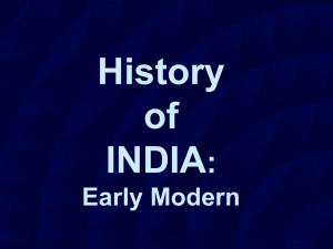 History of India - English Studies